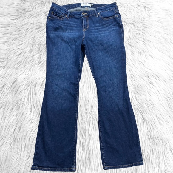 Torrid First at Fit Dark Bootcut Jeans 14S